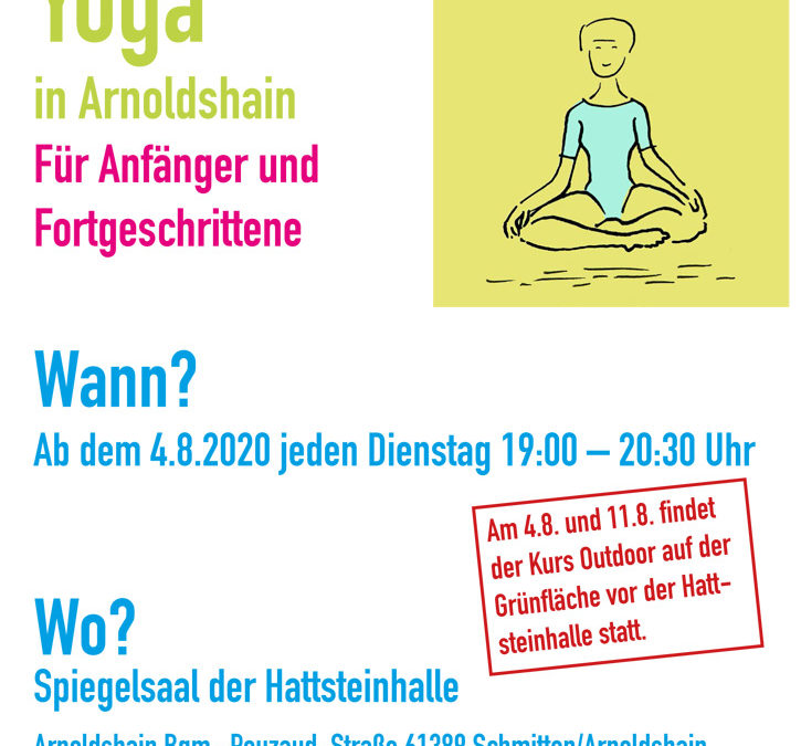 NEU- Ab August 2020: Yoga